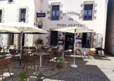 Terrasse restaurant Vieux Quartier