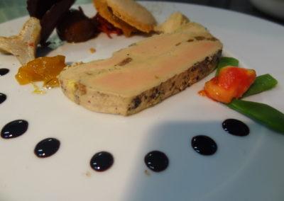 Terrine de foie gras à la fine de Bretagne Du Gorvello